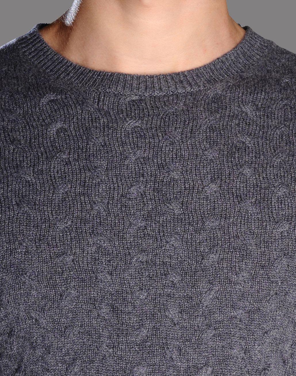 BRIONI cable knit cashmere jumper Knitwear U e