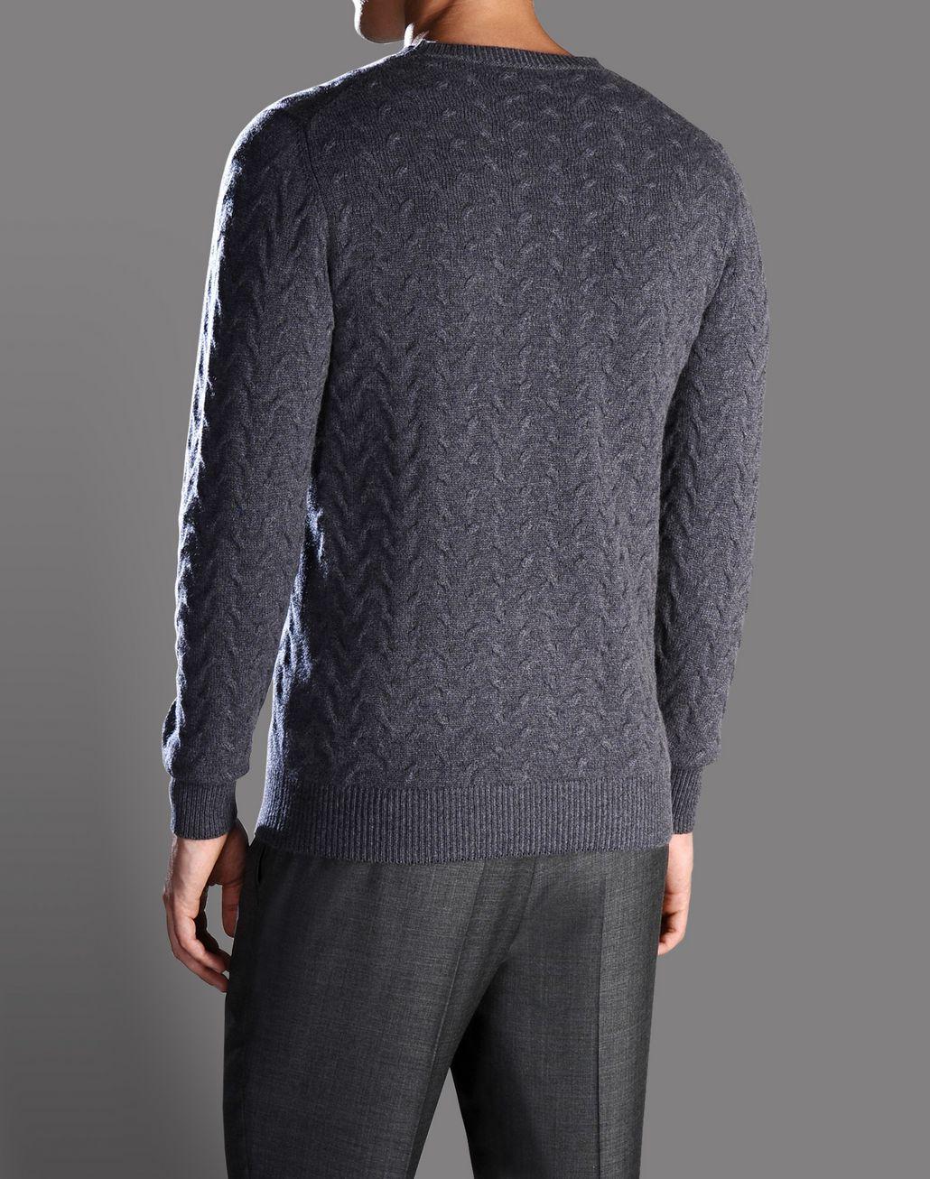 BRIONI cable knit cashmere jumper Knitwear U r