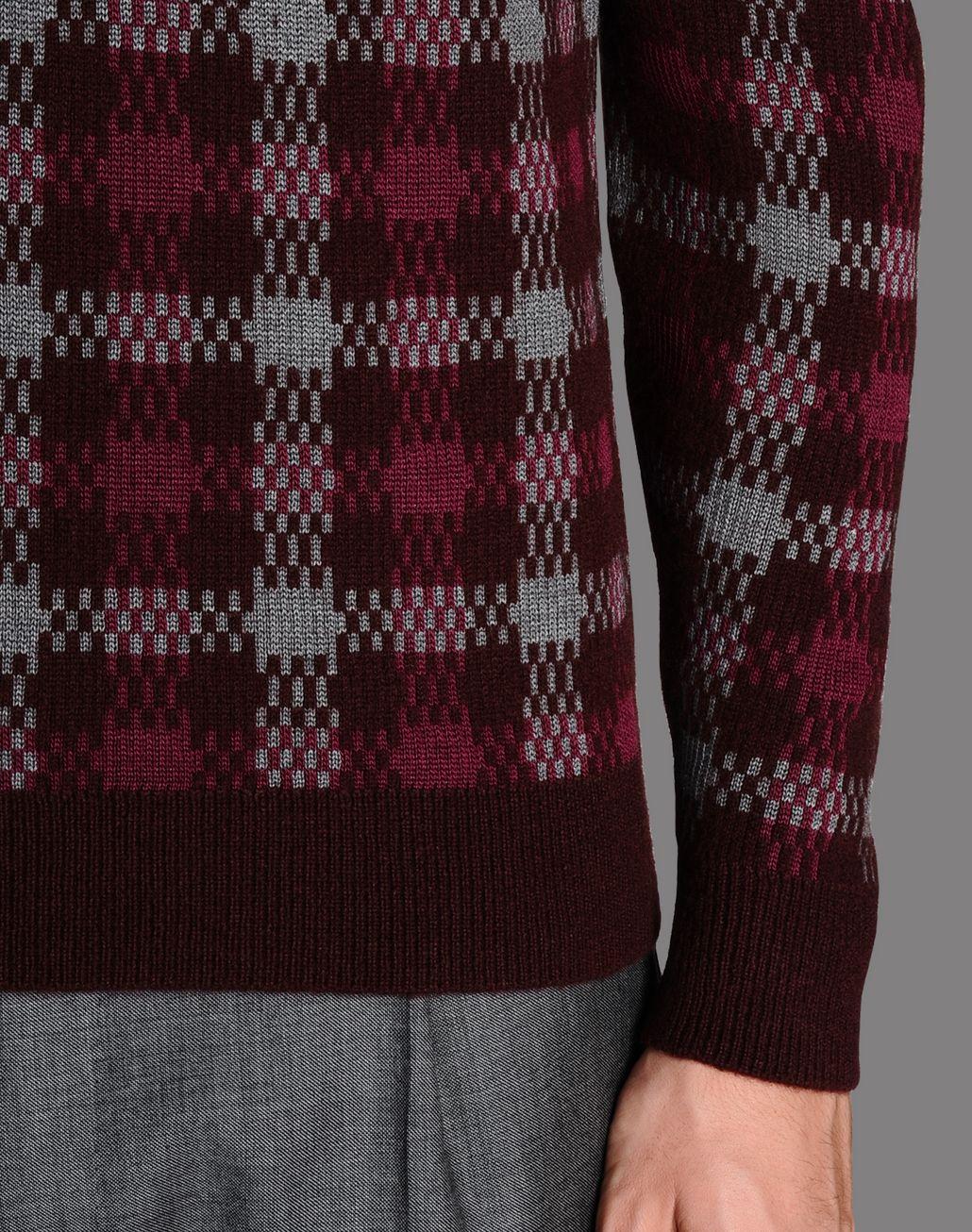 BRIONI checked jumper Knitwear U d