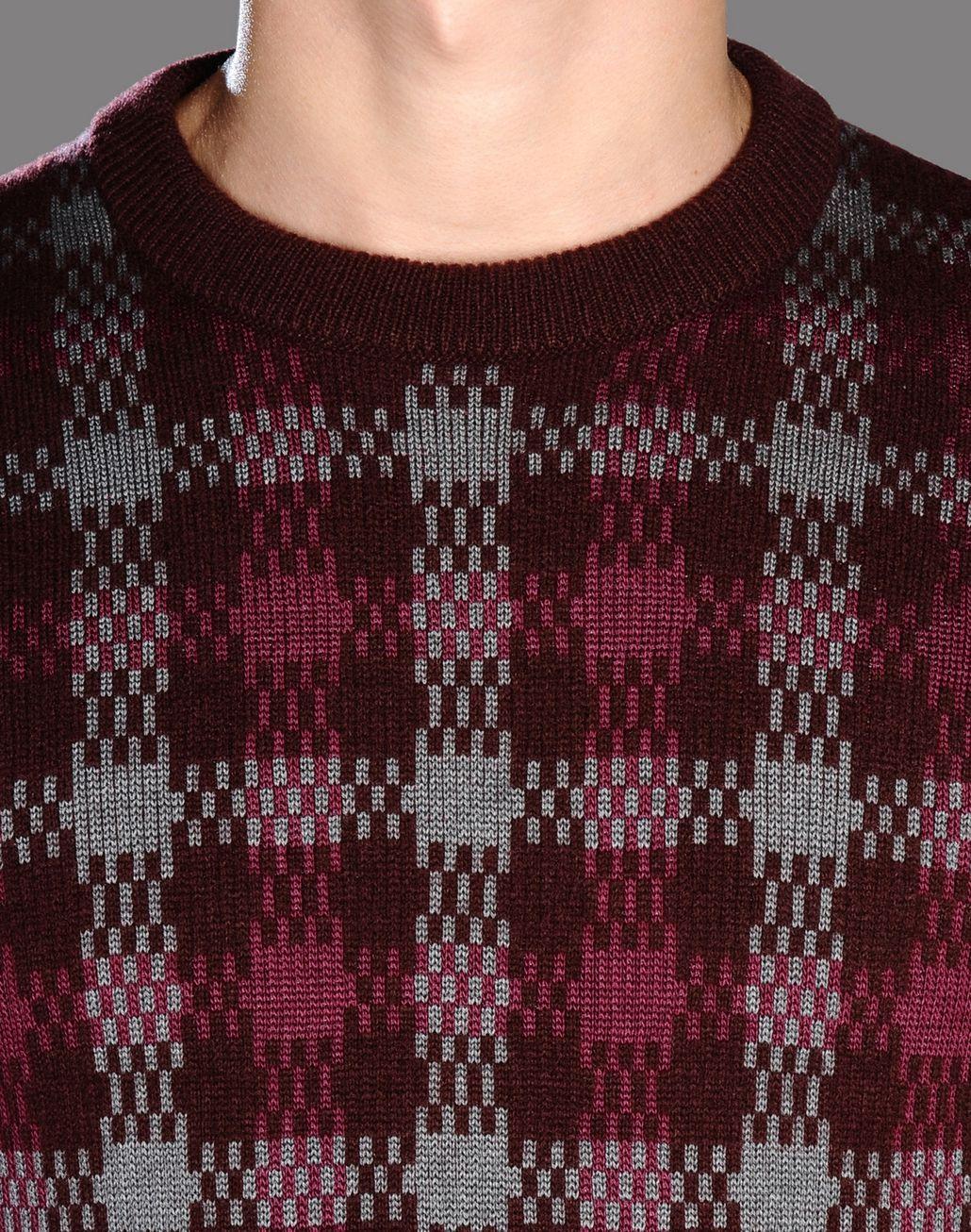 BRIONI checked jumper Knitwear U e