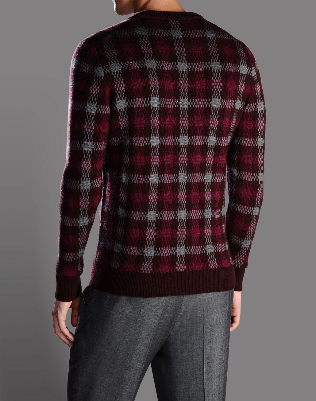 BRIONI checked jumper Knitwear U r