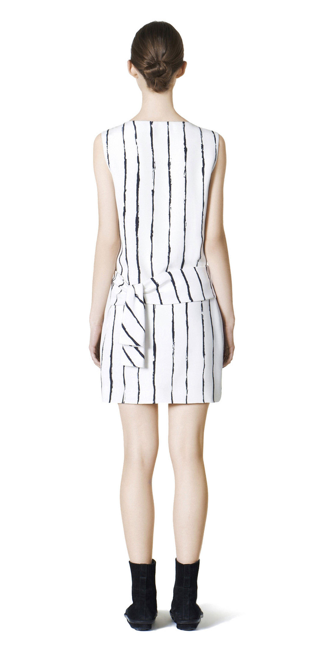 BALENCIAGA Dress D Balenciaga Edition Stripes Drapy Dress i