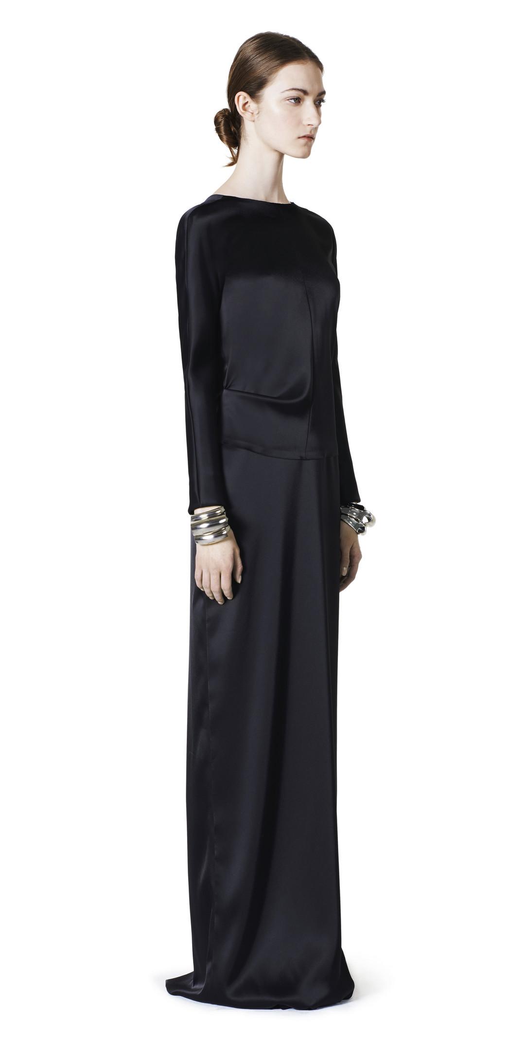 BALENCIAGA Balenciaga Traje Drapeado Vestidos D f