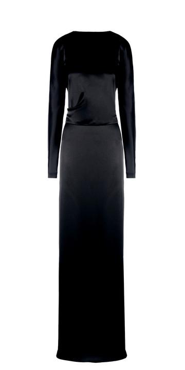 BALENCIAGA Vestidos D Balenciaga Traje Drapeado f