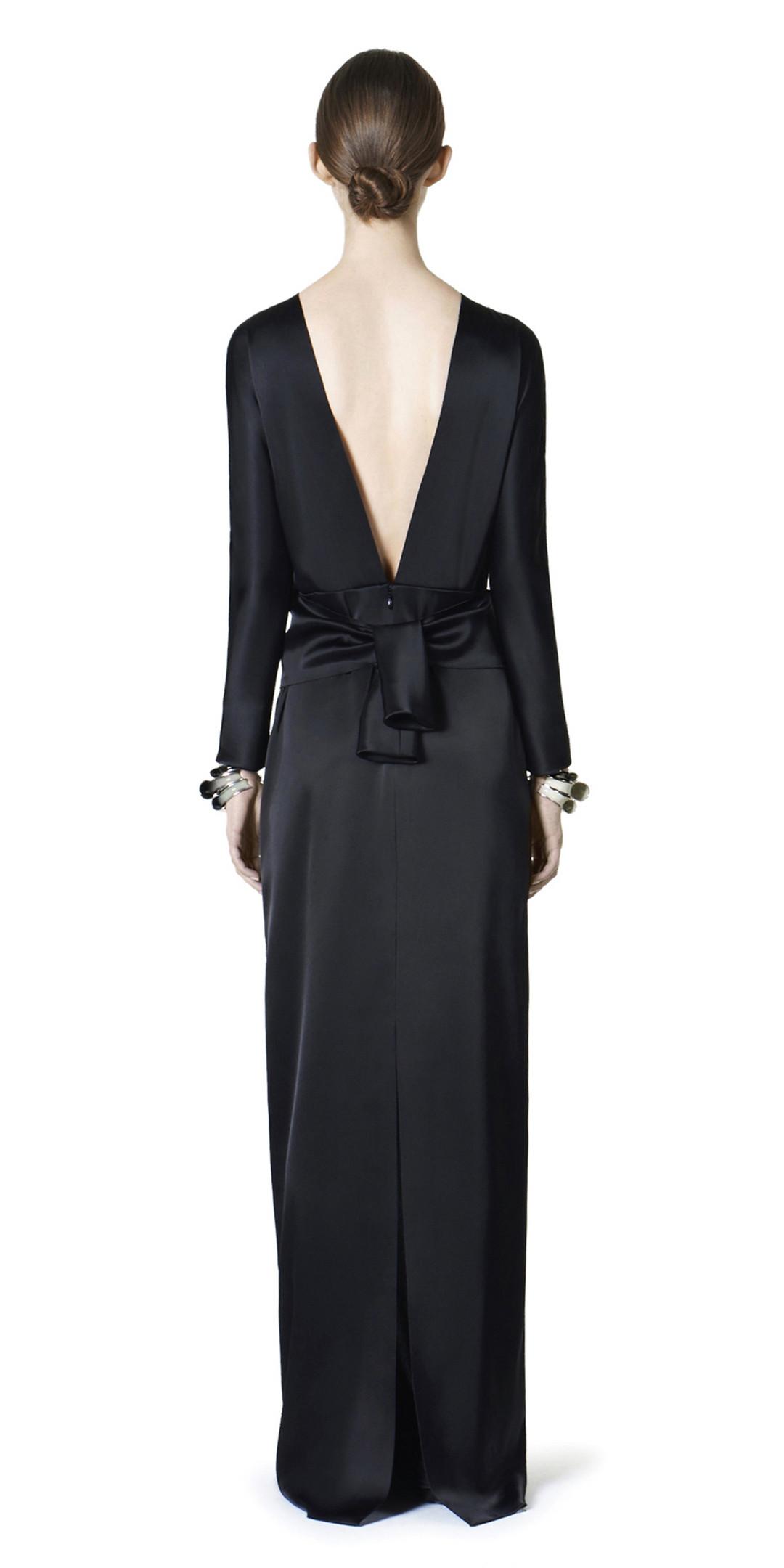 BALENCIAGA Dress D Balenciaga Drapy Gown i