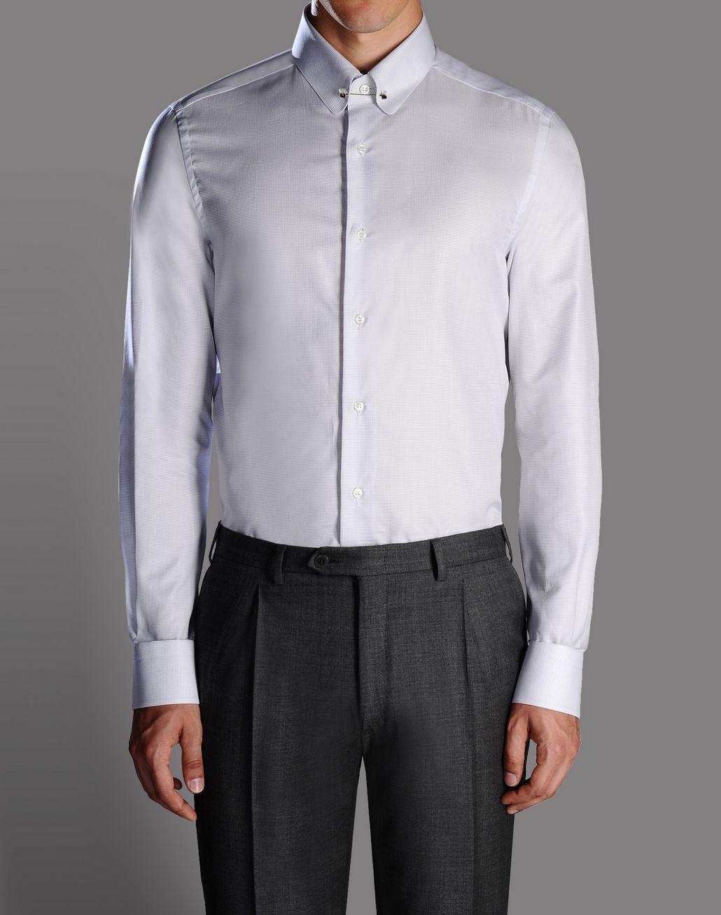 BRIONI micro-check shirt Shirt U r