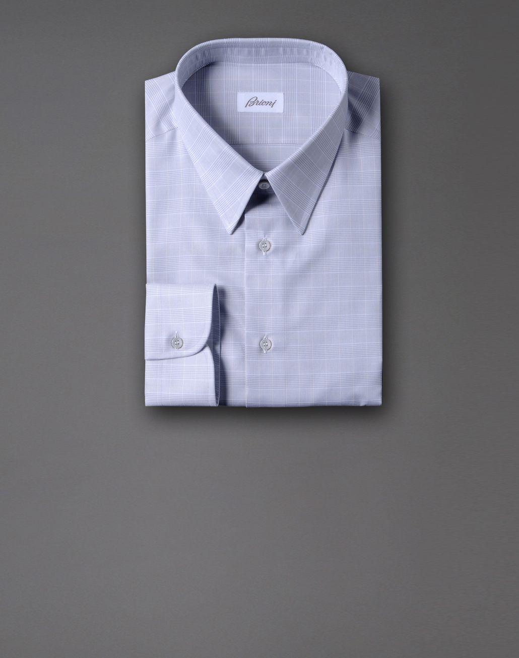 BRIONI macro-check shirt Shirt U f