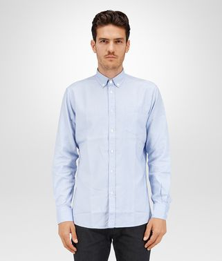 LIGHT BLUE OXFORD COTTON SHIRT