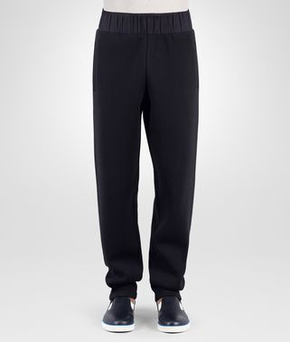 SWEAT PANTS IN DARK NAVY COTTON JERSEY