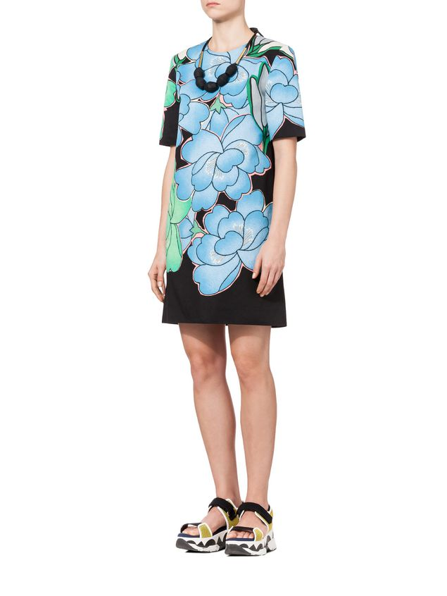 Marni Short Sleeve Dress Woman - 5