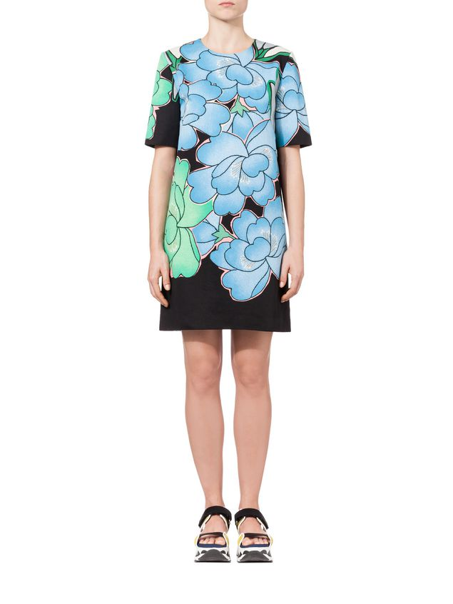 Marni Short Sleeve Dress Woman - 2