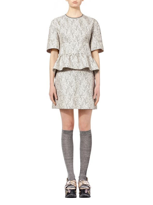 Silk and cotton Floral Printed Dress Spring/summer Marni iQ8bFqlx8