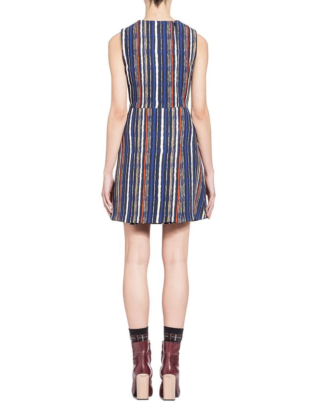Marni Dress in double velvet Shades print Woman