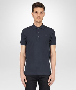 POLO IN PIQUET DARK NAVY