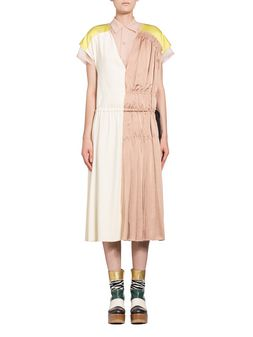 Marni Dress in pleated stretch viscose crepe Woman