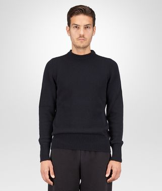 DARK NAVY CASHMERE SWEATER