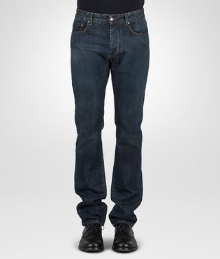 PANTALONE IN DENIM DARK NAVY