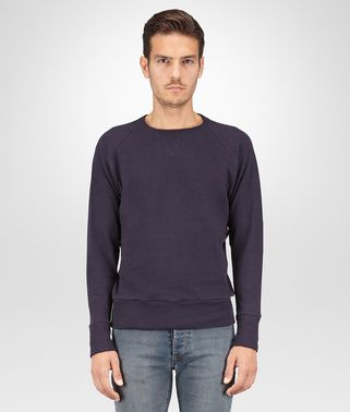 T-SHIRT IN JERSEY DI COTONE DARK NAVY