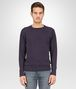 BOTTEGA VENETA T-SHIRT IN DARK NAVY COTTON JERSEY Polo And Tee U fp