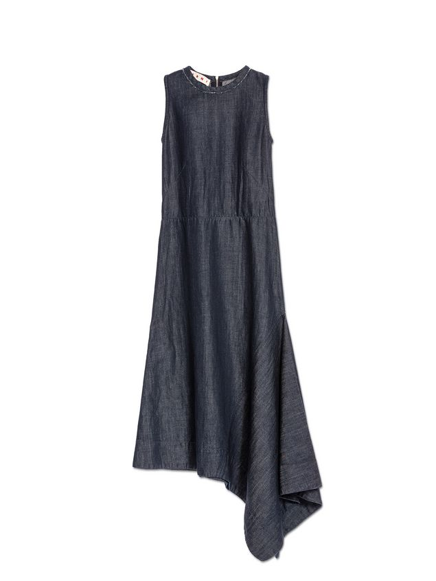 Marni Dress in stone-washed denim Woman - 2