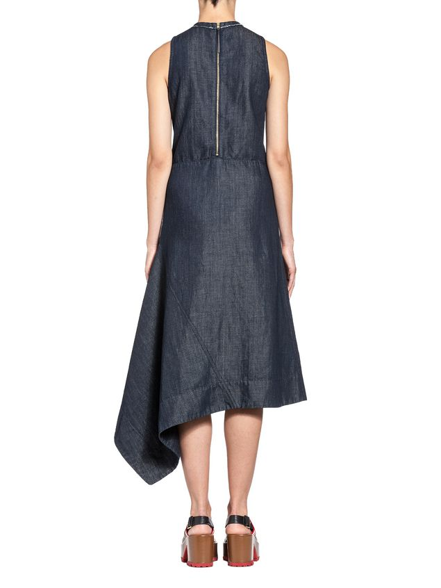 Marni Dress in stone-washed denim Woman - 3