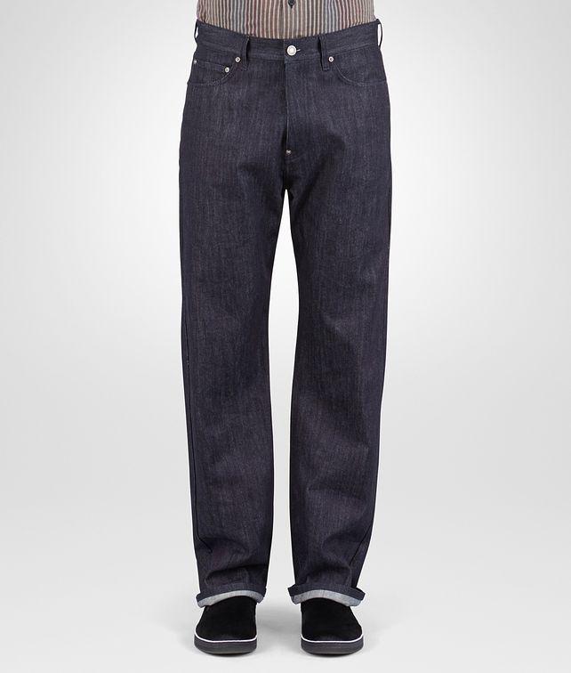 BOTTEGA VENETA PANTALONE IN DENIM DARK NAVY Pantaloni e Jeans U fp