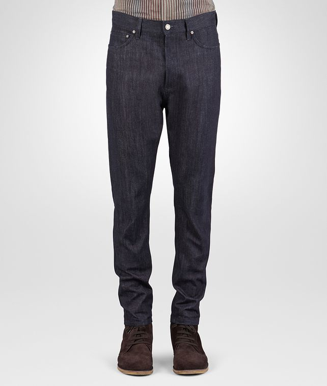 BOTTEGA VENETA PANTS IN DARK NAVY DENIM Trouser or jeans U fp