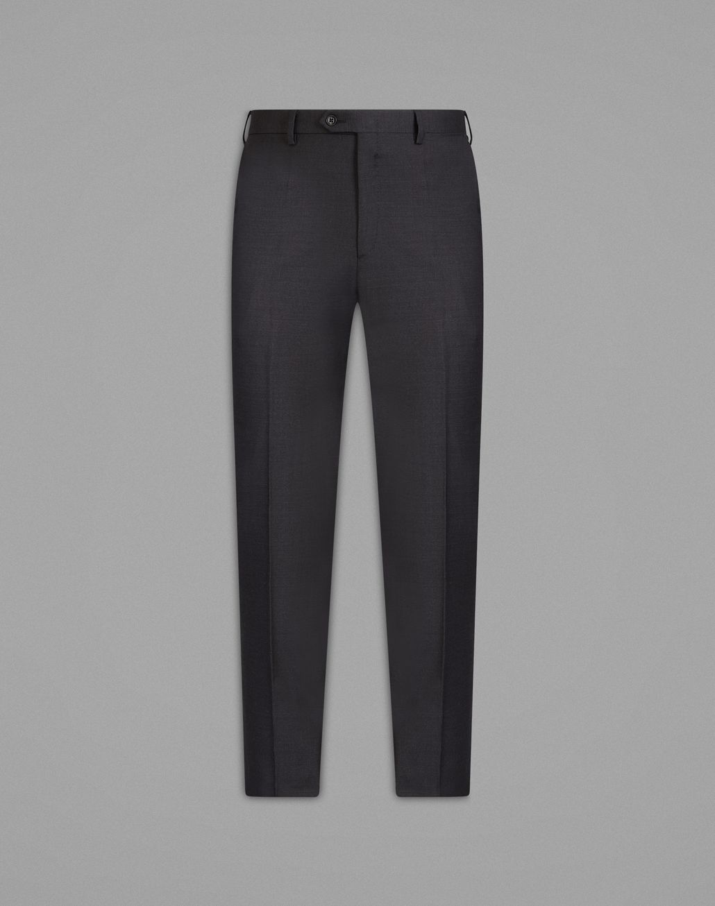 BRIONI 'Essential' Grey Tigullio Trousers Trousers [*** pickupInStoreShippingNotGuaranteed_info ***] f