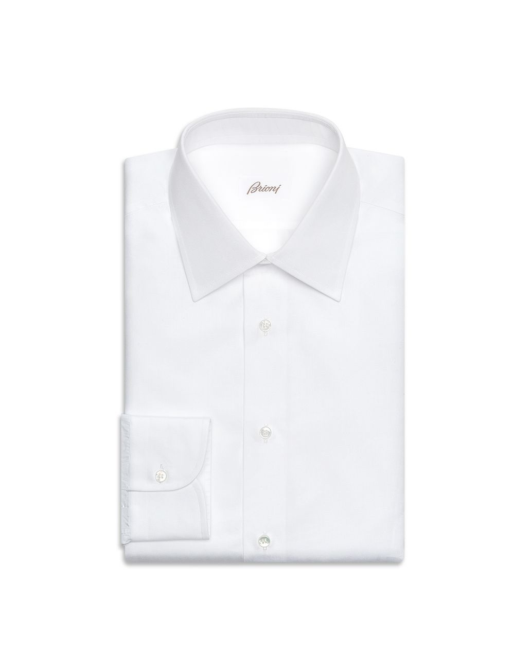 BRIONI 'Essential' White Formal Shirt  Formal shirt Man f