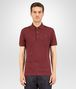 BOTTEGA VENETA POLO IN BAROLO COTTON PIQUET Polo And Tee U fp