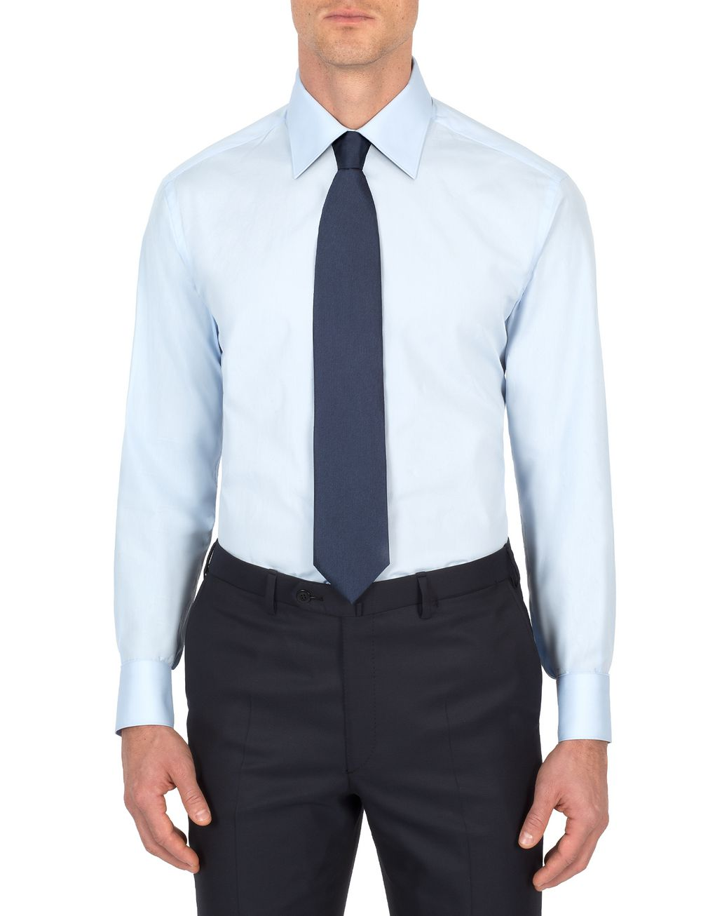 BRIONI 'Essential' Light Blue Formal Shirt Formal shirt Man r
