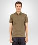 BOTTEGA VENETA POLO IN DARK SERGEANT COTTON PIQUET Polo And Tee Man fp