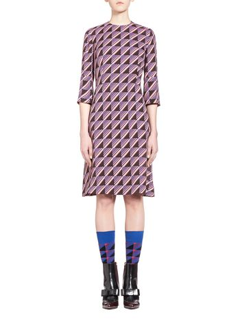 Marni Long Sleeve Dress Woman
