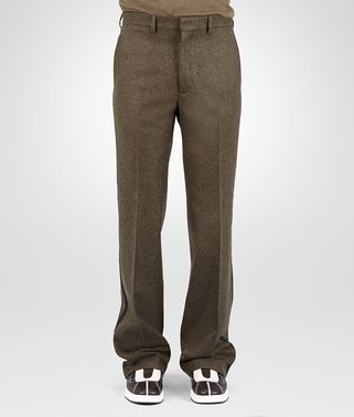 PANT IN SERGEANT LODEN WOOL