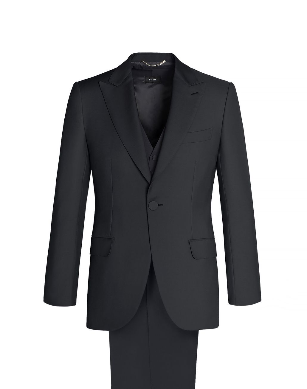 BRIONI Continental three-piece suit Suits & Jackets Man f