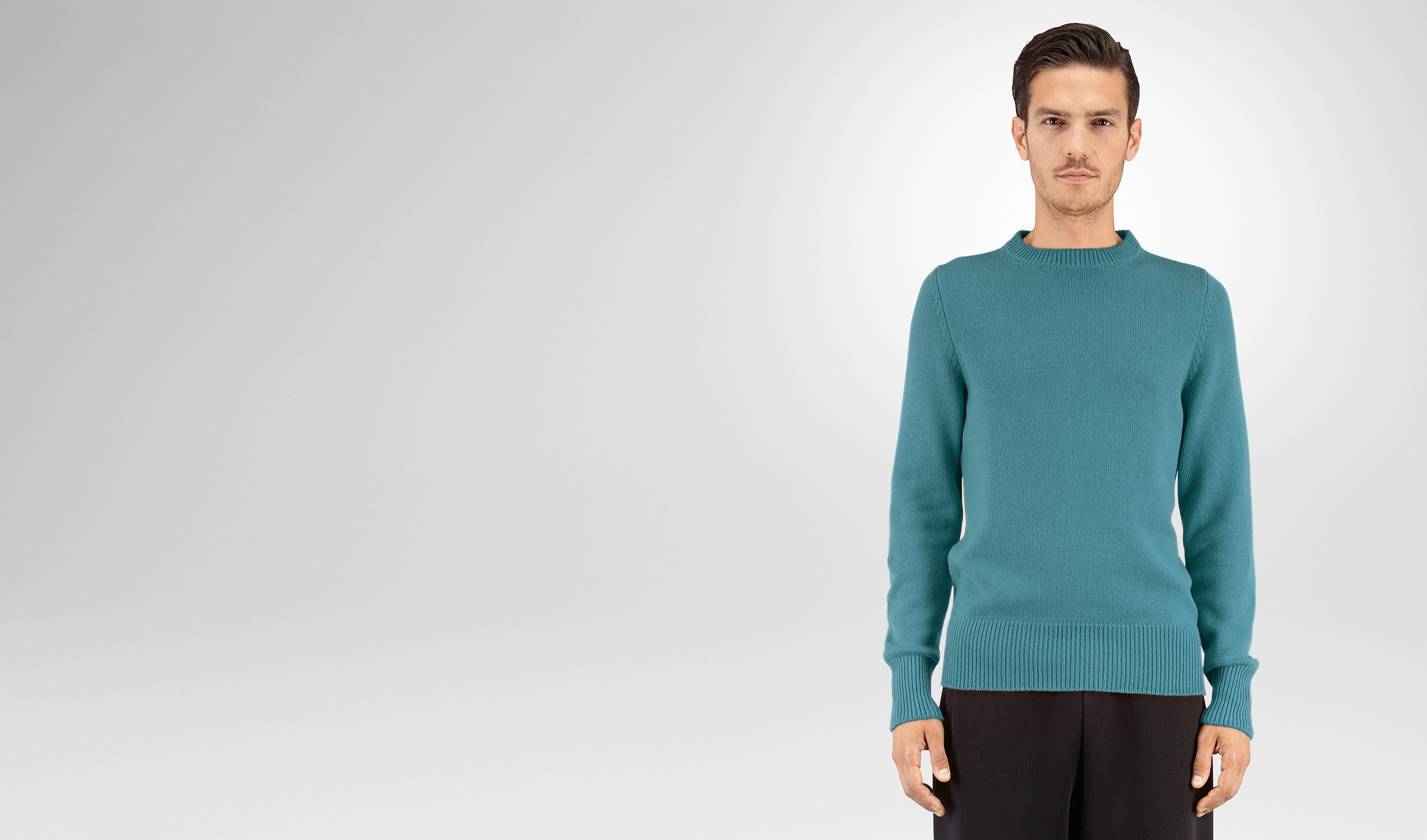 BOTTEGA VENETA Knitwear U SWEATER IN BRIGHTON CASHMERE pl