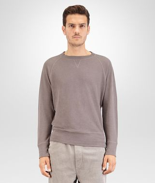 T-SHIRT IN STEEL COTTON JERSEY
