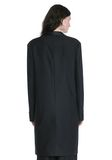 ALEXANDER WANG EXOTIC DANCER ELONGATED SHAWL COLLAR BLAZER  BLAZER Adult 8_n_d