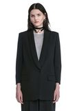 ALEXANDER WANG SINGLE BREASTED SHAWL COLLAR BLAZER BLAZER Adult 8_n_e
