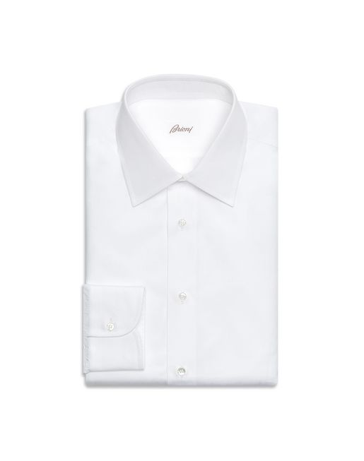 BRIONI Formal shirt U White Formal Comfort Shirt  f