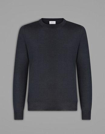 Серый свитер Essential с круглой горловиной