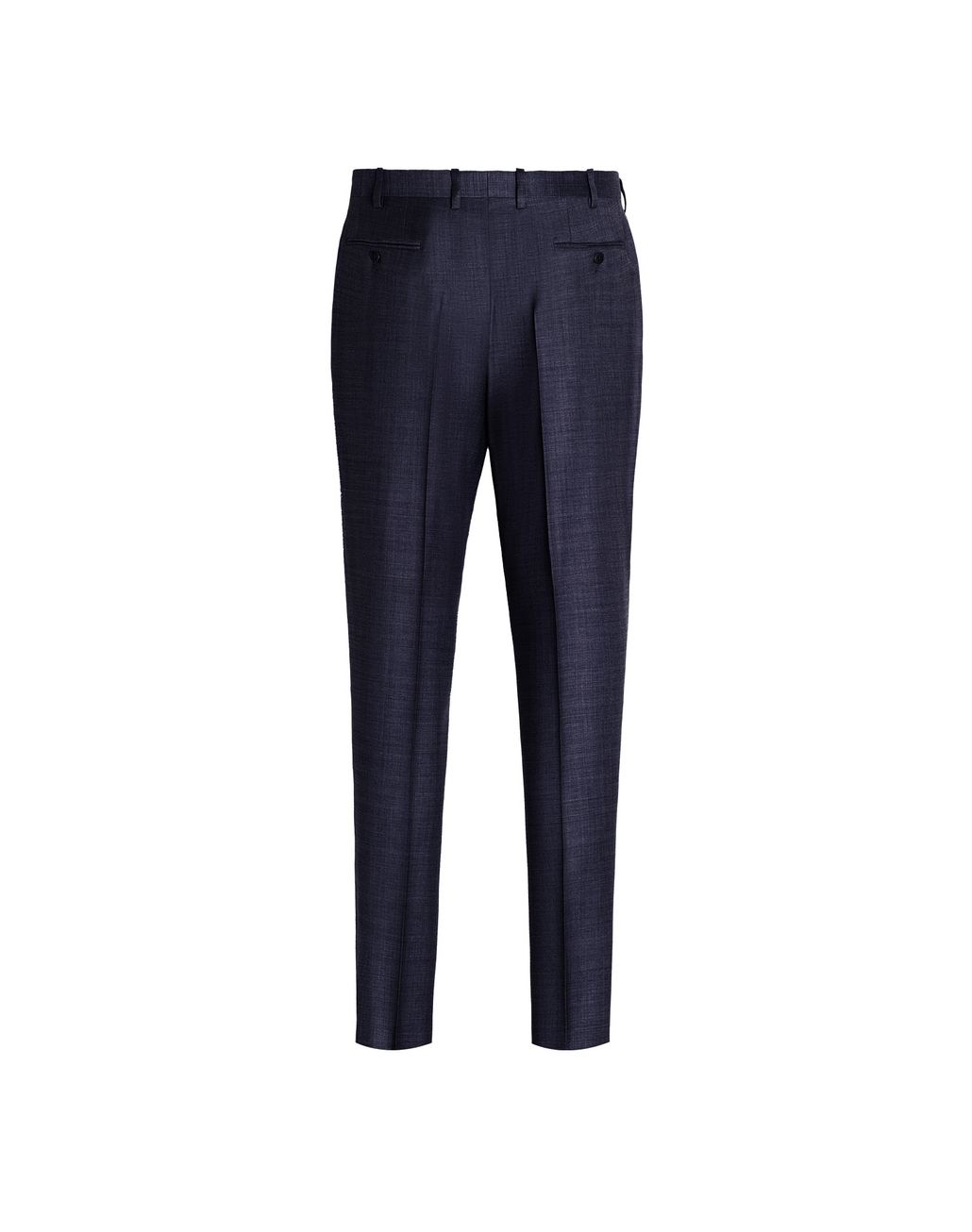 BRIONI Navy Blue Megeve Pants Trousers Man r