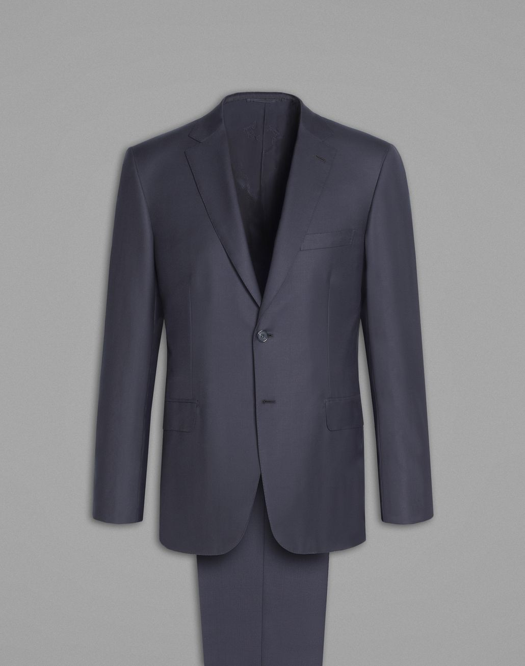 BRIONI 'Essential' Navy Blue Brunico Suit Suits & Jackets Man f