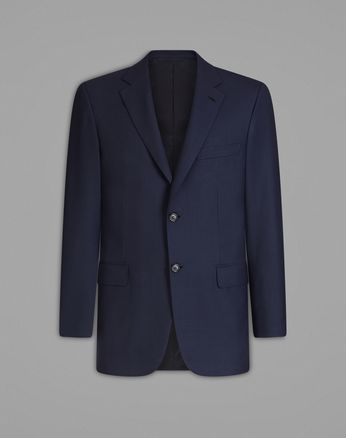 'Essential' Navy Blue Ravello Jacket