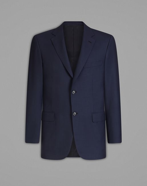 BRIONI Jackets U Navy Blue Ravello Jacket f