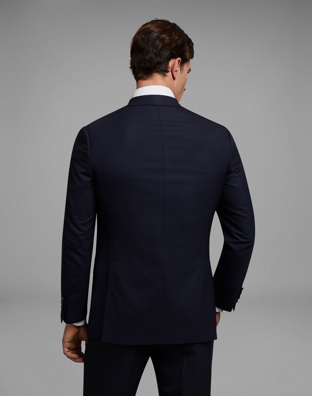 BRIONI 'Essential' Navy Blue Ravello Jacket Jackets Man d