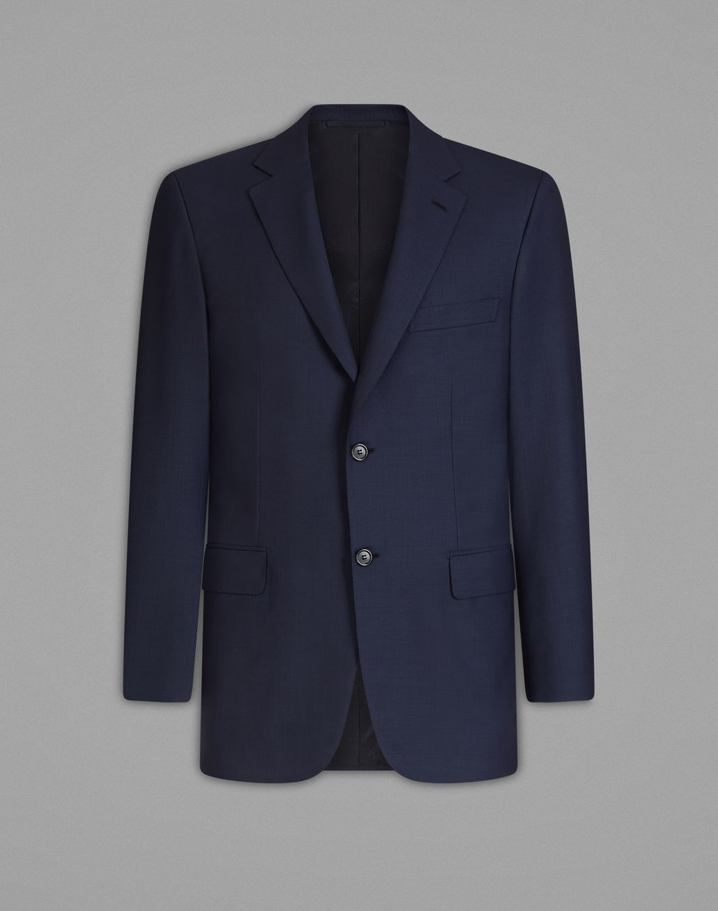 BRIONI  'Essential' Navy Blue Ravello Jacket Jackets Man f
