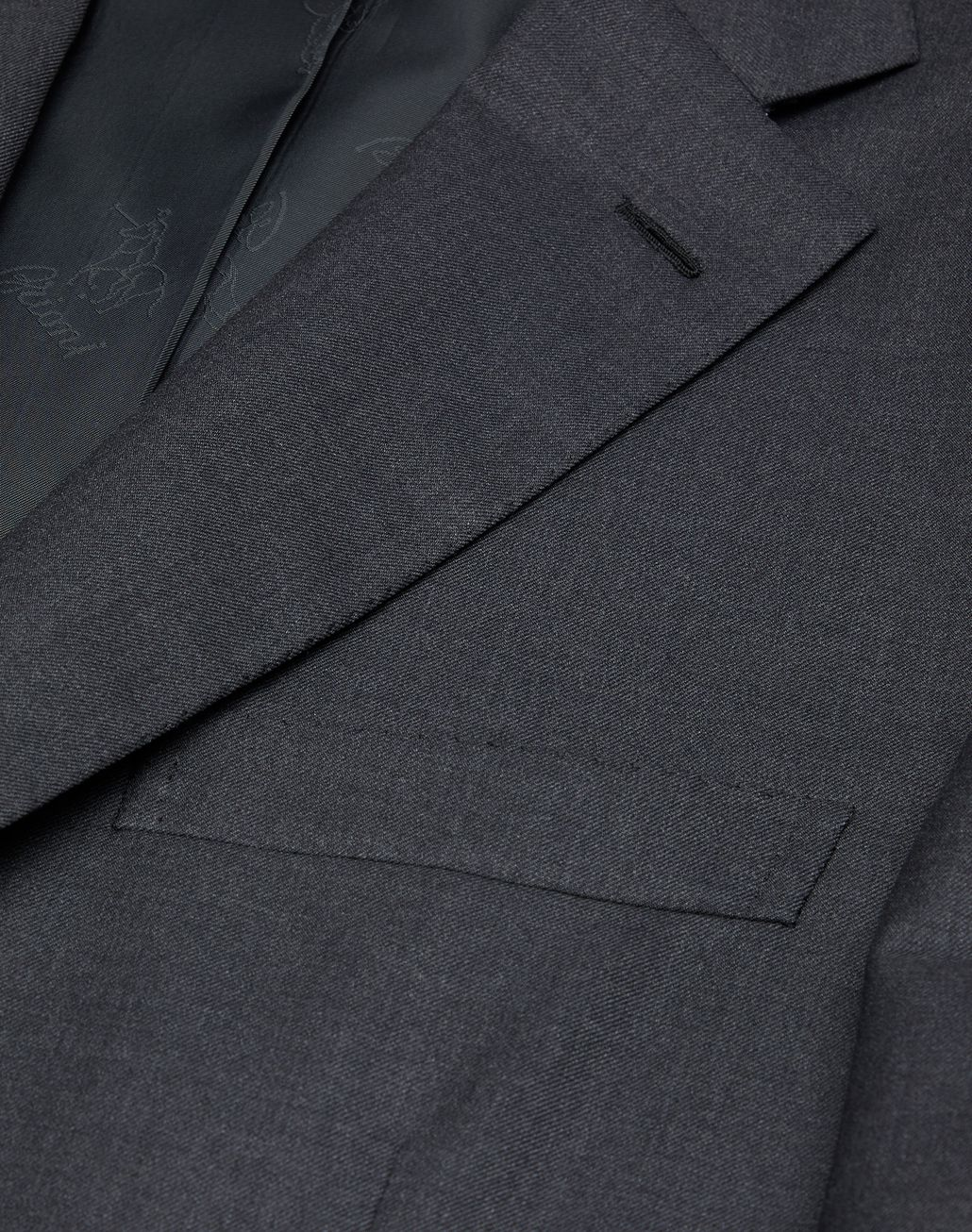 BRIONI Charcoal Brunico Suit Suits & Jackets Man a