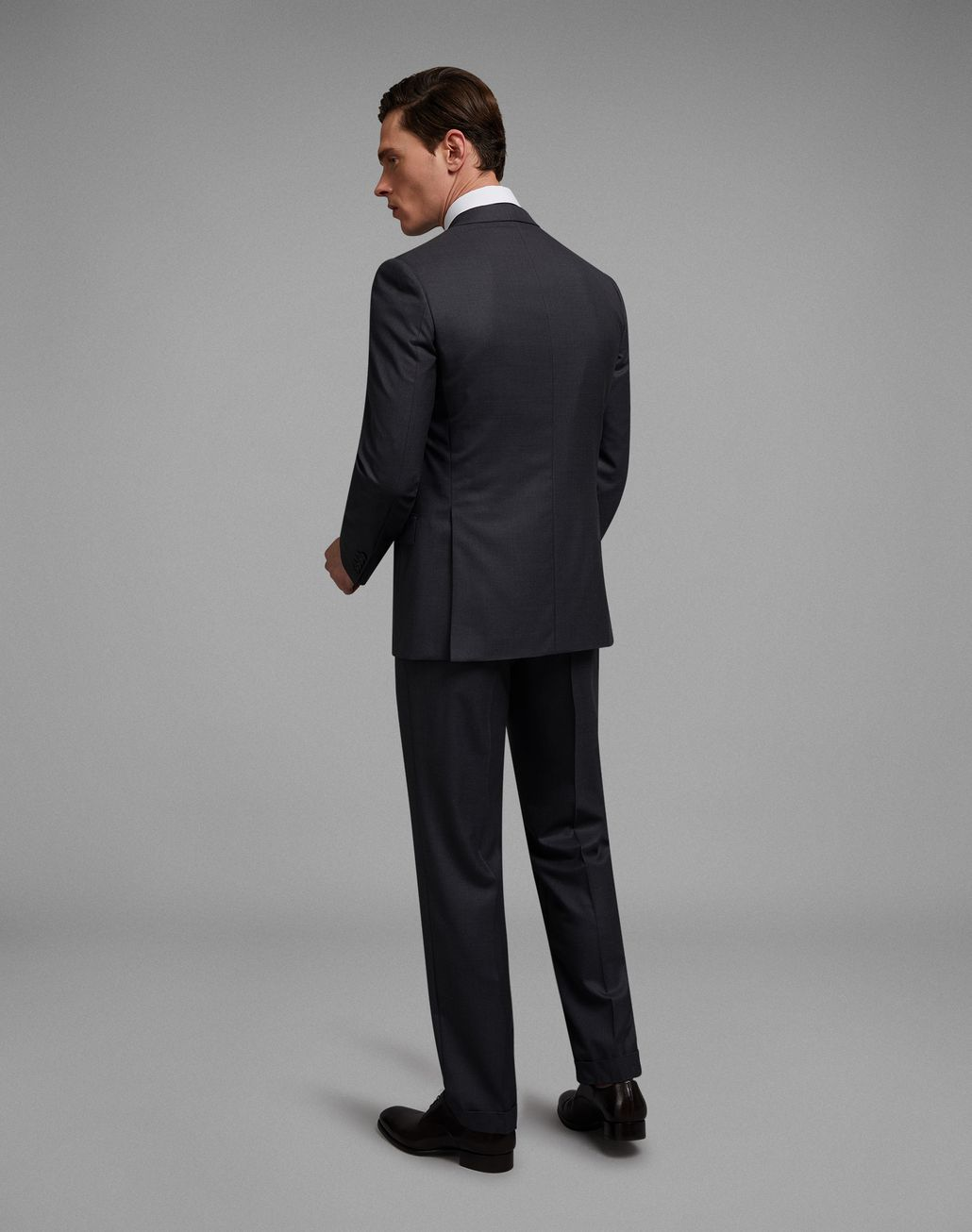 BRIONI Charcoal Brunico Suit Suits & Jackets Man d