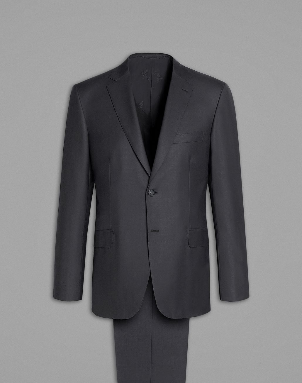 BRIONI  'Essential' Gray Brunico Suit Suits & Jackets Man f